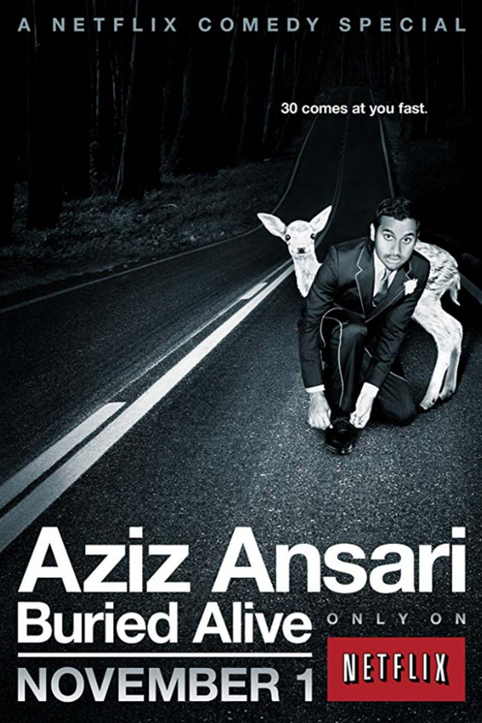 Aziz Ansari Buried V