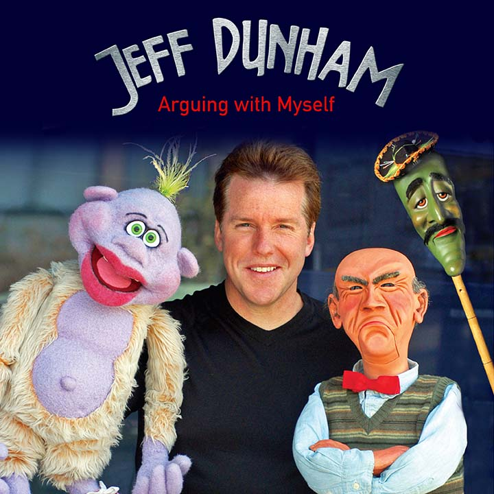 Jeff Dunham: Arguing with Myself square cover
