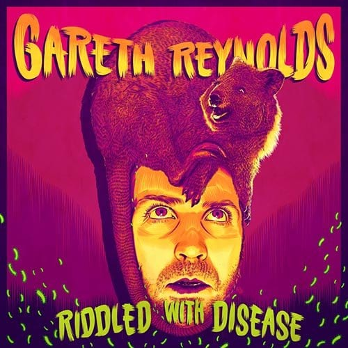 Gareth Reynolds Riddled Album Cover