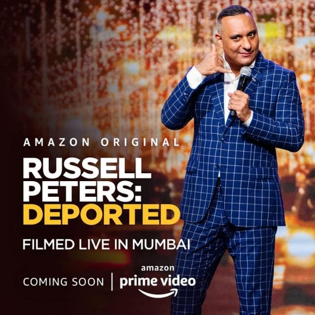 Russell Peters Deported Amazon Comedy Dynamics India Square New