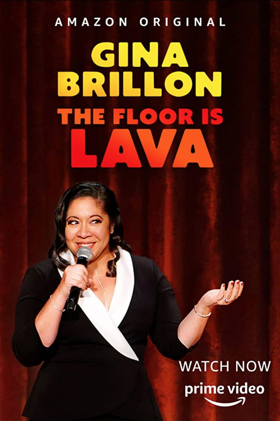 Gina Brillon The Floor Is Lava Amazon Comedy Dynamics V