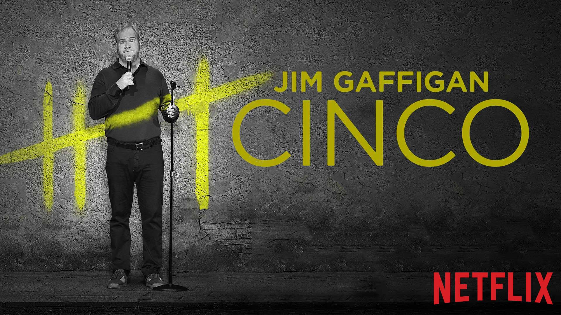 Jim Gaffigan Cinco Horizontal