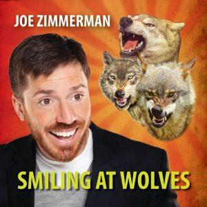 Joe Zimmerman Smiling At Wolves