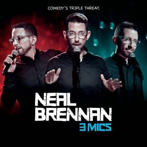 Neal Brennan 3 Mics