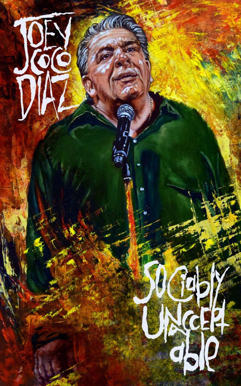 Joey Diaz Sociably Unacceptable Premiere 1500x2400