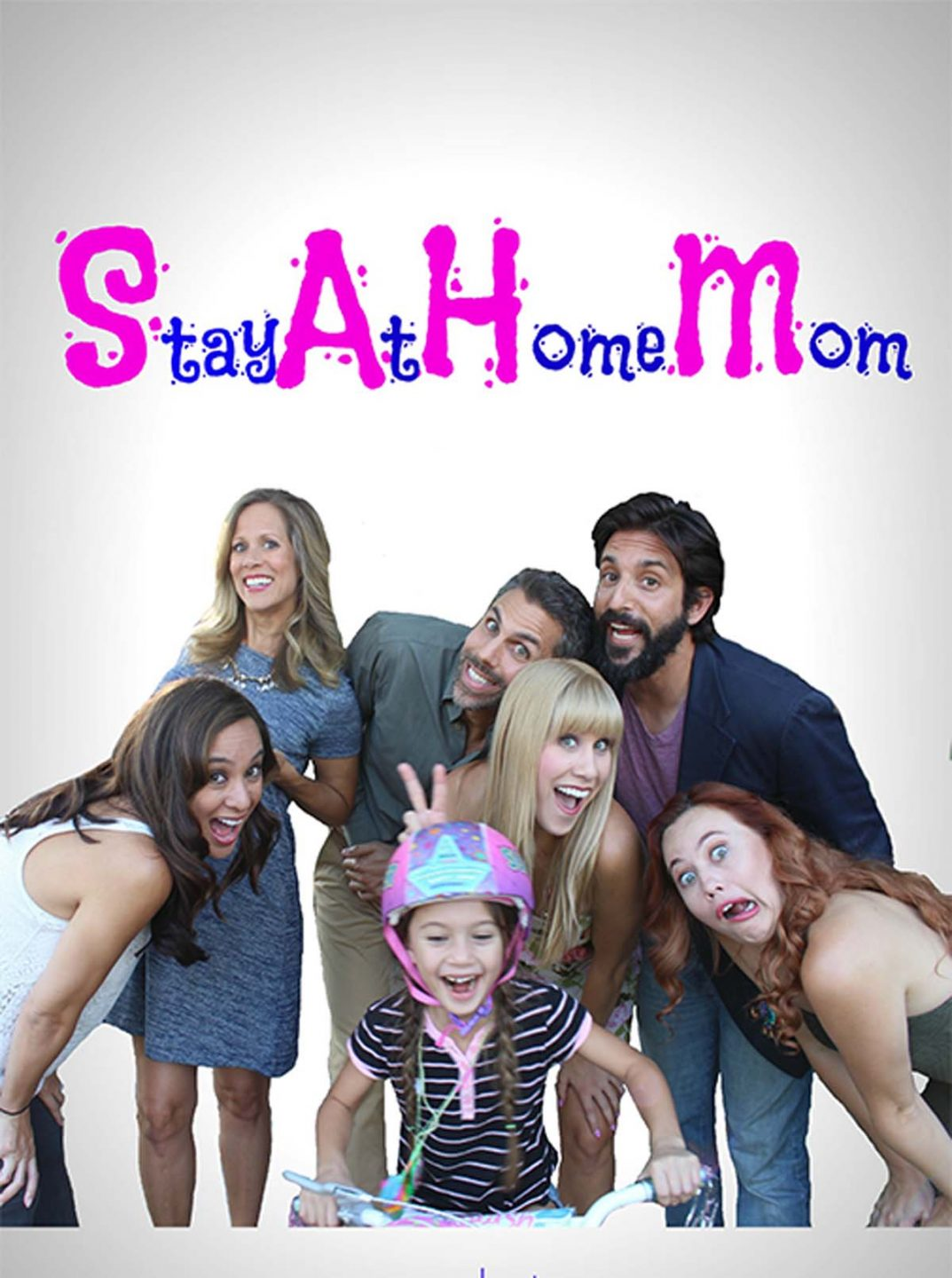 Stay At Home Mom Poster Vertical